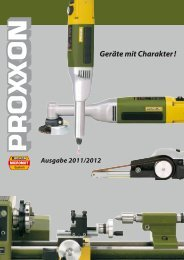Proxxon Gesamtkatalog - Kirch GmbH