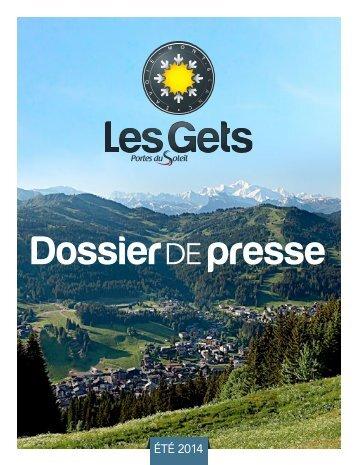 Dossier de Presse Eté 2013 - Les Gets
