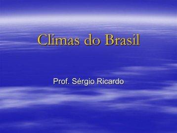 Apostila 2 | Climas do Brasil - liceu.net
