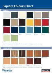 Alucobond Colour Chart - Vivalda