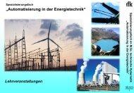 Automatisierung in der Energietechnik