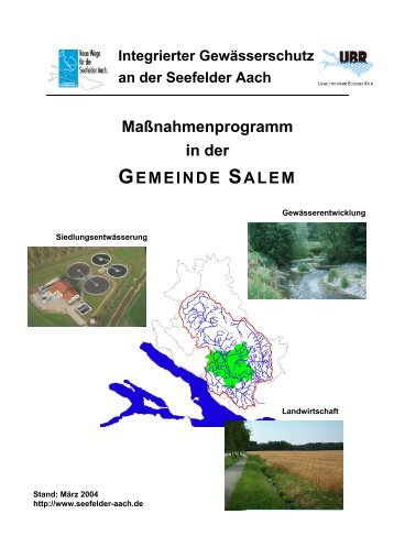Salem - Aktionsprogramm Seefelder Aach
