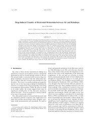 PDF (741 KB) - American Meteorological Society