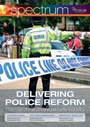 Autumn 2012 - British Security Industry Association