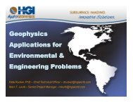 Geophysics Applications for Environmental & Engineering Problems ...