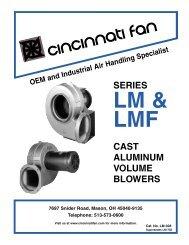 Cinti Fan - LM/LMF Series - Cincinnati Fan