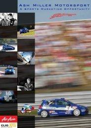 Ash Miller Motorsport (AMM) - Activation