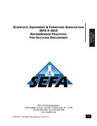 Download SEFA-9-2010-Ductless.pdf - Scientific Equipment and ...