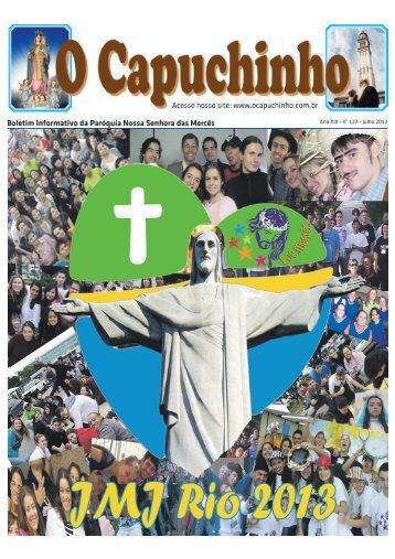 Ano XIII - nº 127 - Julho.2012 - Paróquia Nossa Senhora das Mercês