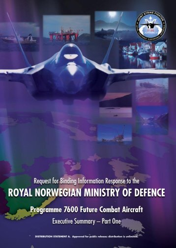 royal norwegian ministry of defence - Embassy of the United States ...