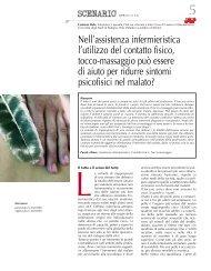 Nell'assistenza infermieristica l'utilizzo del contatto fisico ... - Aniarti