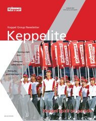 August 2011 - Keppel Corporation