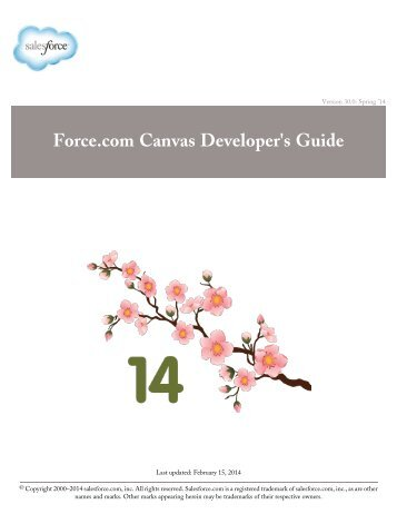 force com canvas developer s guide salesforce com rh yumpu com Canvas.com School Canvas.com School