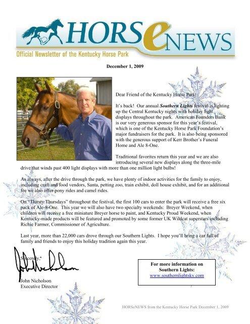 John Henry's 30th Birthday Bash - Kentucky Horse Park