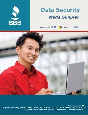Data Security – Made Simpler - Visa