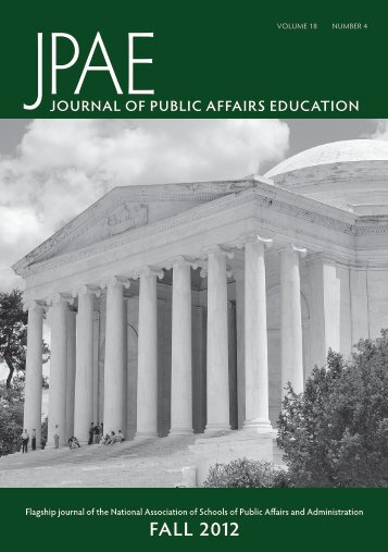 Access Entire Current Issue - Naspaa