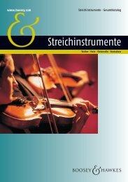 Werke für Streichinstrumente 2012 (dt.) [6,1 MB] - Boosey & Hawkes