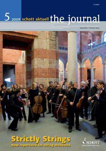 Strictly Strings - Schott Music
