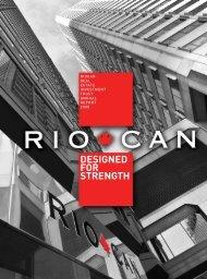 DESIGNED FOR STRENGTH - RioCan