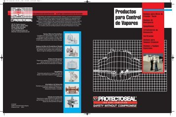 Productos para Control de Vapores - Protectoseal