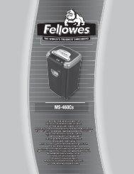 MS-460Cs - Fellowes