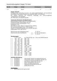 Ausschreibungstext Geiger TS Korb - H. Geiger GmbH Stein