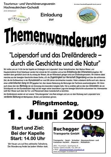 """""""Loipersdorf und das Dreiländereck – durch die Geschichte und die ..."""