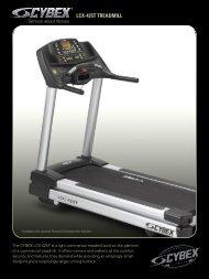 LCX-425T TREADMILL - RSA Fitness