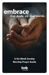 A Six-Week Sunday Worship Prayer Guide