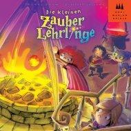 Die kleinen Zauberlehrlinge-40858 - Drei Magier Spiele