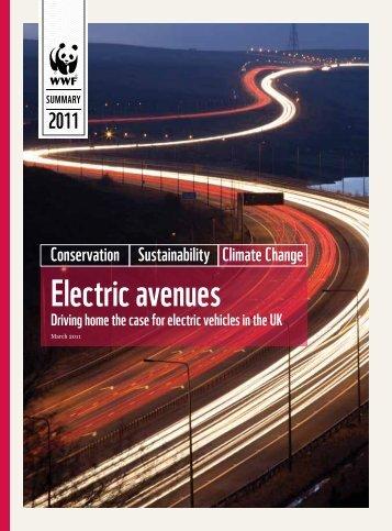 Electric avenues - WWF UK