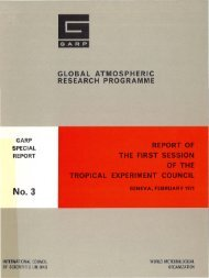 global atmospheric research programme - E-Library - WMO