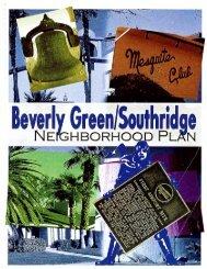 Beverly Green/Southridge Neighborhood Plan - City of Las Vegas