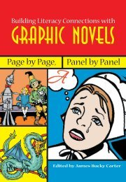 Graphic novel Spread - National Council of Teachers of English