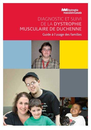 diagnostic et suivi de la dystrophie musculaire de duchenne
