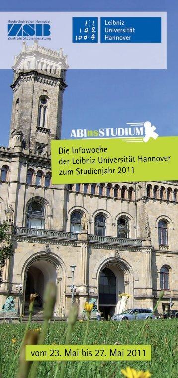 Leibniz Universität Hannover - Zentrale Studienberatung der Leibniz ...