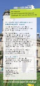 Leibniz Universität Hannover - Zentrale Studienberatung der Leibniz ... - Seite 2