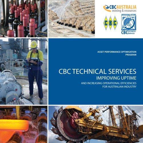 CBC Technical Services Brochure - CBC Bearings
