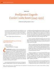 Poslijeratni Zagreb: Cuvier i suhe kosti (1945-1951) - Gordogan