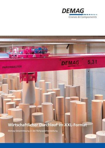 Case Study Propapier PM2 (PDF | 1,2 MB ) - DEMAG Cranes ...