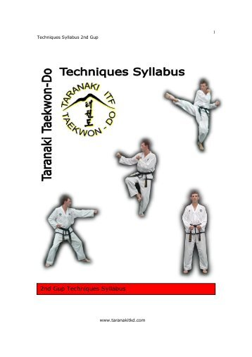Taekwondo Techniques - allworldneat's blog