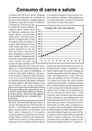 Consumo di carne e salute