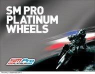 SM Pro Platinum Wheel - Bikers World