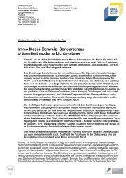 Immo Messe Schweiz - Olma Messen St.Gallen