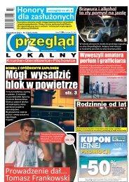 Przegląd Lokalny Nr 37 (1019) 13 września 2012 roku