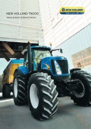 NEW HOLLAND T8OOO