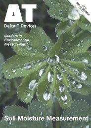Soil Moisture Measurement - Delta-T Devices