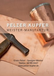 Pelzer Kupfer Meister Manufaktur