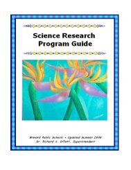 Science Research Program Guide - Secondary Programs Home ...