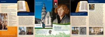 Altenburg Tourismus